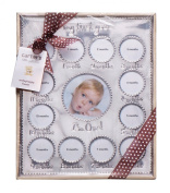 Baby Essentials First Year Frame One Size Silver tone