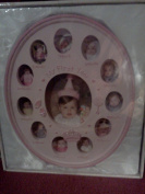 "Baby Essentials ""My First Year"" Resin Baby Frame"