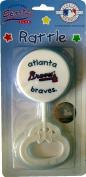 MLB Baseball Atlanta Braves Baby Rattle