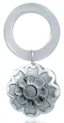 Sterling Silver Sunflower Teething Ring