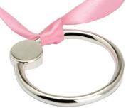 Krysaliis Sterling Silver Baby Teether Rattle, Flat Ring
