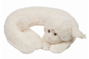Bearington Baby Comfort-On-The-Go LAMBY The White Lamb TRAVEL PILLOW