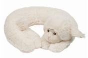 Bearington Baby Comfort-On-The-Go LAMBY The White Lamb TRAVEL PILLOW