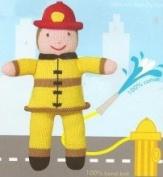 Zublels Fireman Frank 17.8cm Rattle