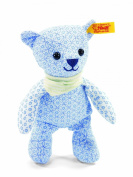 Steiff Steiff'S Little Circus Teddy Bear Rattle, Light Blue Soft Plush Baby