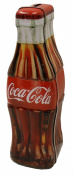 The Tin Box Company Coke Bottle Shape Toy Bank