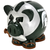 NCAA Large Thematic Piggy Bank, Michigan State