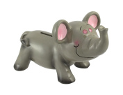 Jewel Eyes Elephant Shorty Coin Bank