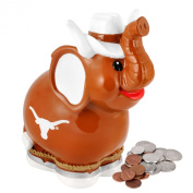 NCAA Texas Thematic Elephant Piggy Bank