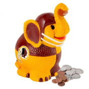 NFL Washington Redskins Thematic Elephant Piggy Bank