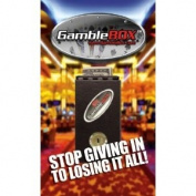 Gamble Box Metal Pocket Sized Gambling Casino Piggy Bank Cash Drop Box Gamblebox Stops the Addictive Urge to Gamble Back All Your Winnings Best Gambling Tricks Tips Guaranteed to Help Any Gambler Bring Home More Cash Just Leave Keys Home Fold Slip Some Wi