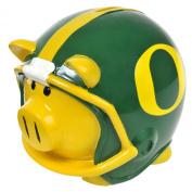 NCAA Oregon Resin Large Helmet Piggy Bank
