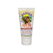 Badger Unscented Sunscreen SPF 30