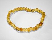 17.8cm Baltic Amber Lemon Bracelet