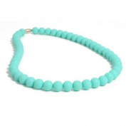 Chewbeads Silicone Rubber Necklace in Turquiose