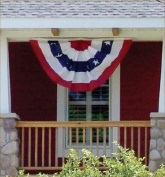 3' x 6' Poly/Cotton American Bunting