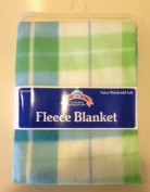 2 Baby King Fleece Baby Blanket 71.1cm X 71.1cm Extra Warm & Soft New with Tags