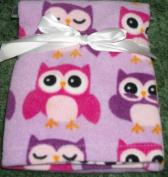 1 Cutest Owl 76.2cm x 76.2cm Baby Blanket 100% Polyester