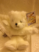 "My Banky Security Blanket ""Michael"" the White Angel Bear"