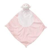 Angel Dear Pink Monkey Mini Baby Blanket
