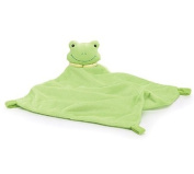 Green Frog Velboa Security Blanket for Baby