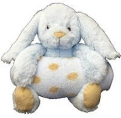 Animal and Blanket Toy and Blanket Blue Bunny