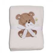 Baby Starters Blankets, Ivory Bear
