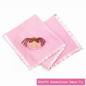 Little Princess Blanket Brunette by North American Bear Co.