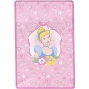 Disney Princess Plush Coral Fleece Toddler Blanket