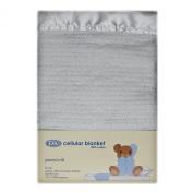 DK Glovesheets 100% Cotton Cellular Pram Blanket