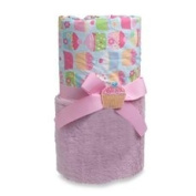 A.D. Sutton Baby Essentials Cupcake Plush Blanket - Pink