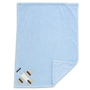 Mod Pod Pop Wheels Boa Blanket Blue