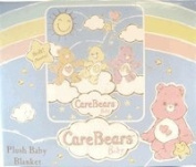 CareBears Plush Baby Blanket