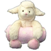 Animal and Blanket Toy and Blanket,Pink Lamb
