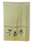 Manual Woodworkers Growing by Leaps and Bounds Fleece Blanket - Green, 76.2cm x 101.6cm