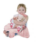 Tiny Wonders Large Cuddle Buddy Blanket, Lily