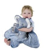 Tiny Wonders Large Cuddle Buddy Blanket, Peanut