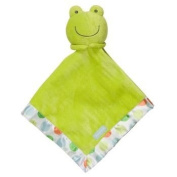 Carters Cuddle Me Plush Green Frog Security Blanket Lovey