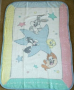 Looney Tunes Luxury High Pile Plush Throw Baby Blanket