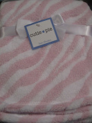 Baby Girl Pink and White Soft Blanket