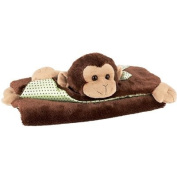 Bearington Bears Giggles Belly Blanket Monkey