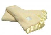 Pickles Cloud Baby Blanket, Yellow