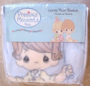 Precious Moments Luxury Baby Plush Blanket