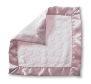 SwaddleDesigns Baby Lovie Security Blanket - Pastel Pink Puff Circle