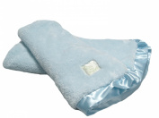 Pickles Cloud Baby Blanket, Blue