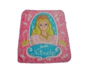 Barbie Nutcracker Royal Plush Raschel Blanket Throw