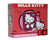 Hello Kitty Royal Plush Raschel Throw - Blanket