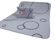 Modern Basics Blue Bubble Blanket 40X30
