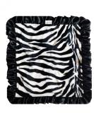 Patricia Ann Designs Satin Travel Silkie, Zebra