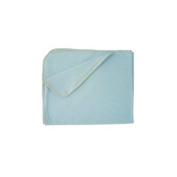 Sckoon Organic Cotton Blanket - Blue [Apparel]